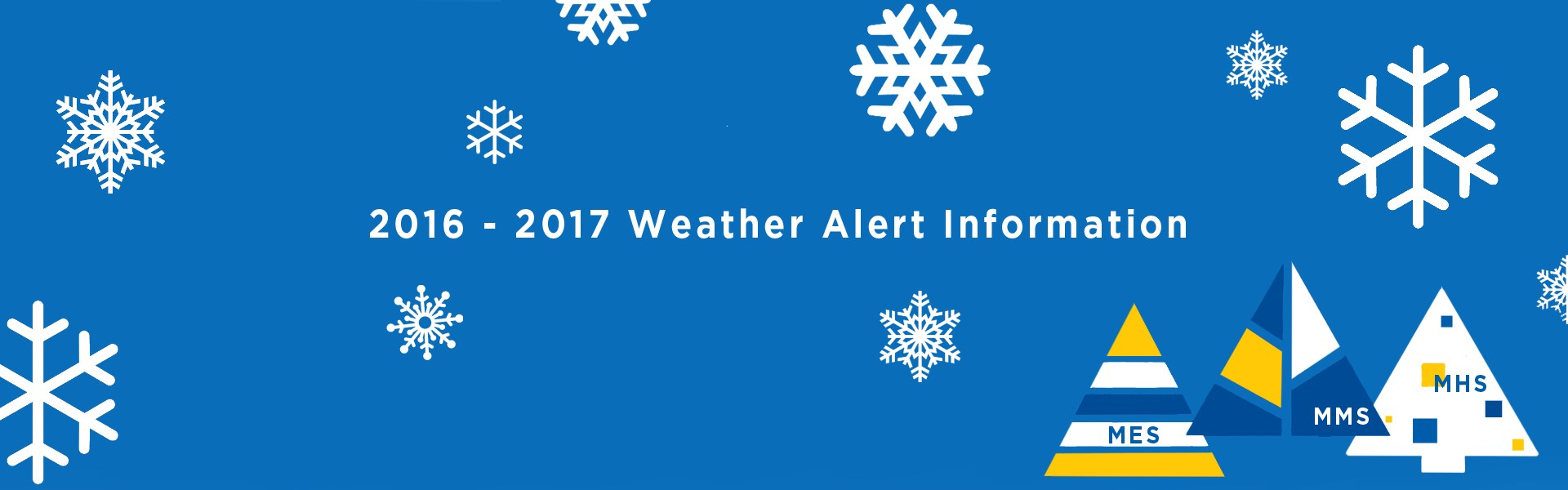 Here's everything you need to know to help us keep our students safe in the case or weather related cancellations or delays READ MORE BELOW ...
